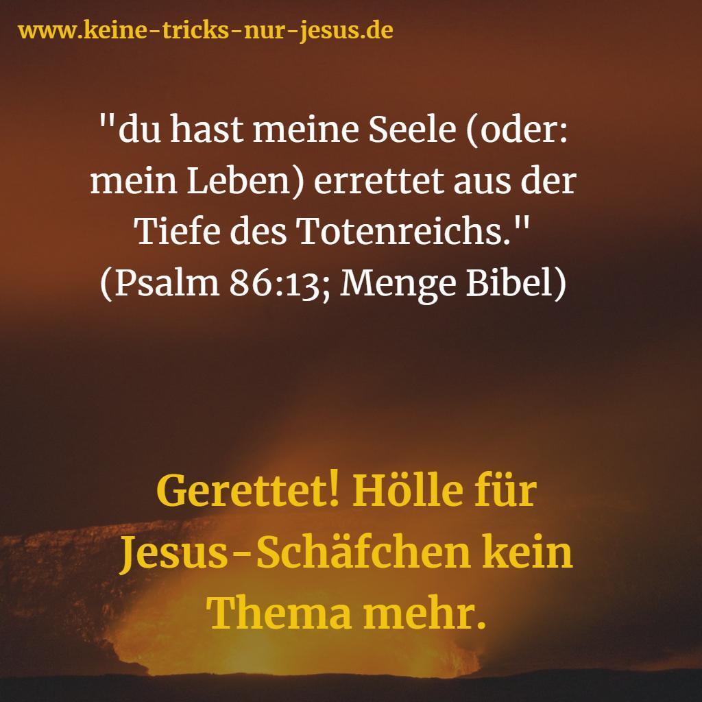 Totenreich Bibelvers