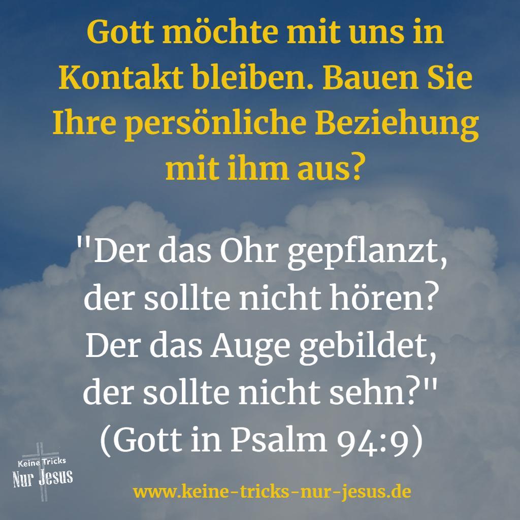 Beziehung mit Gott