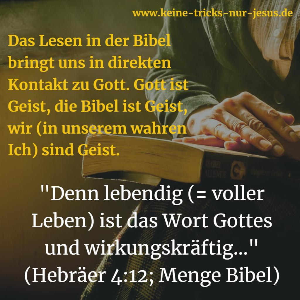Bibel wirkungskräftig
