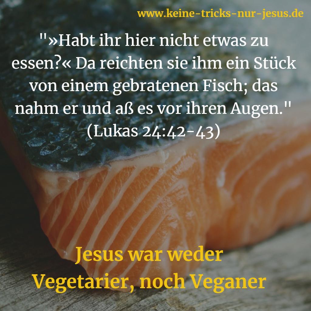 Jesus war kein Veganer