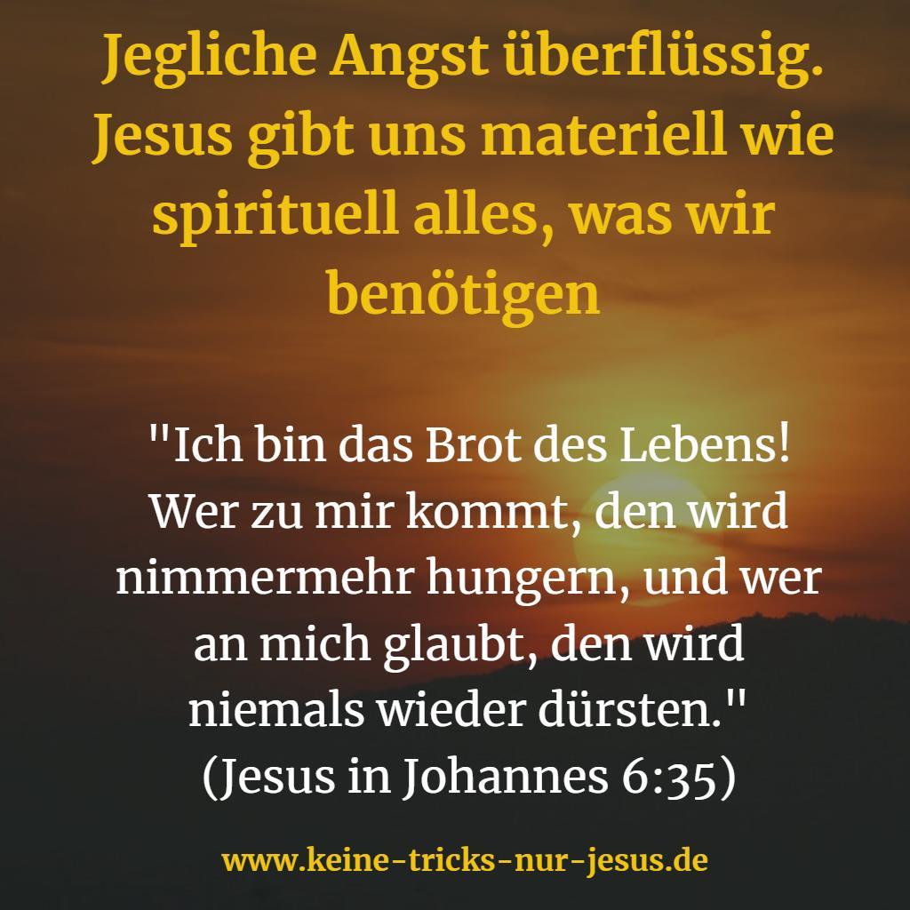 Brot des Lebens ist unser Jesus