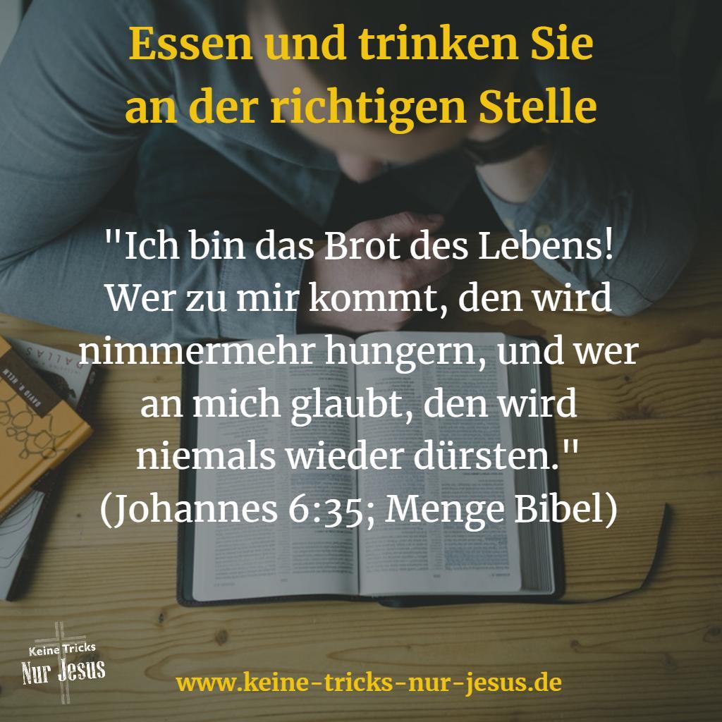 Jesus Brot des Lebens