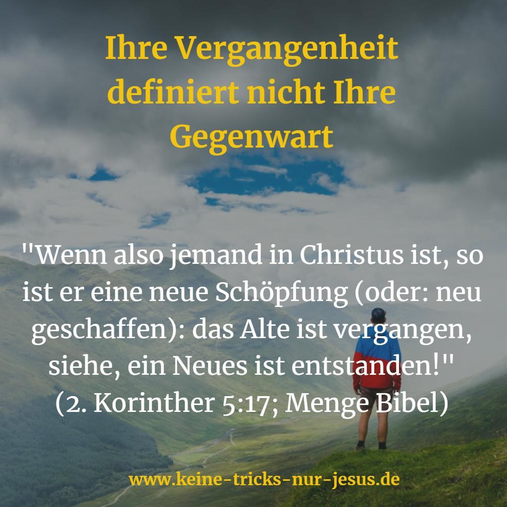 Neuschöpfung Jesus