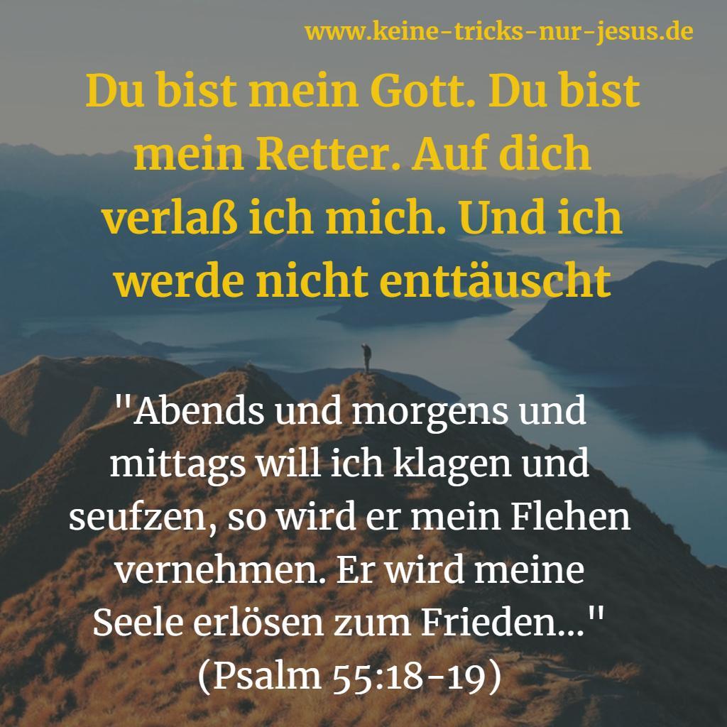 Frieden mit Gott finden