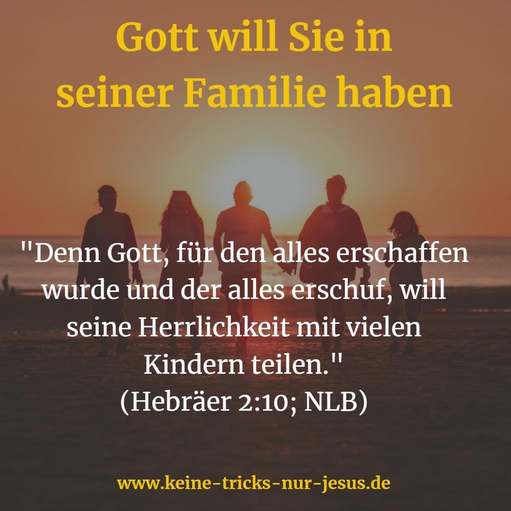 Familie Gottes