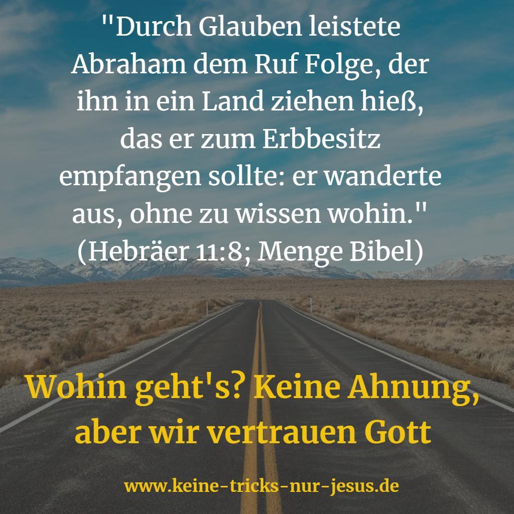 Lebensweg Bibel