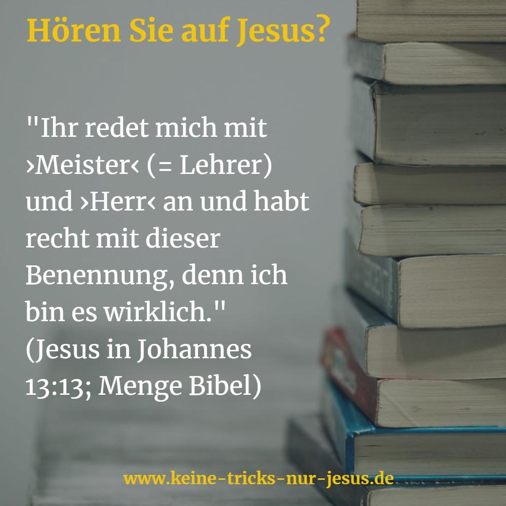 Lehrer Jesus