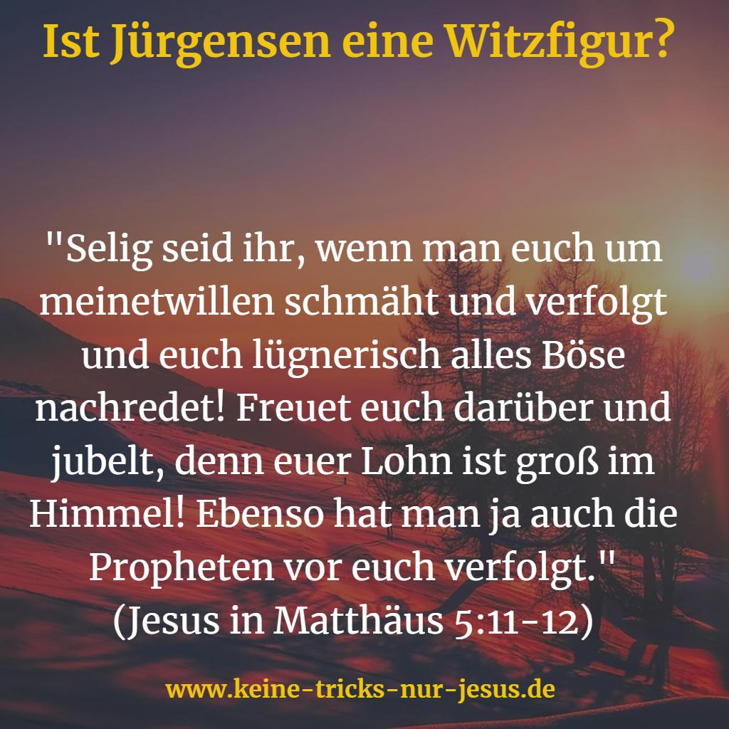 Christen Witzfiguren?