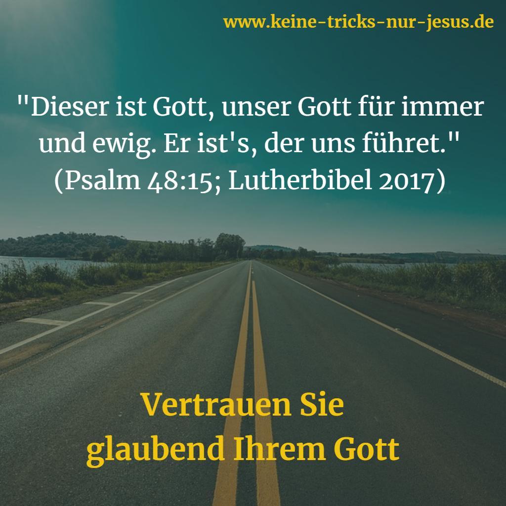 Führung durch Gott
