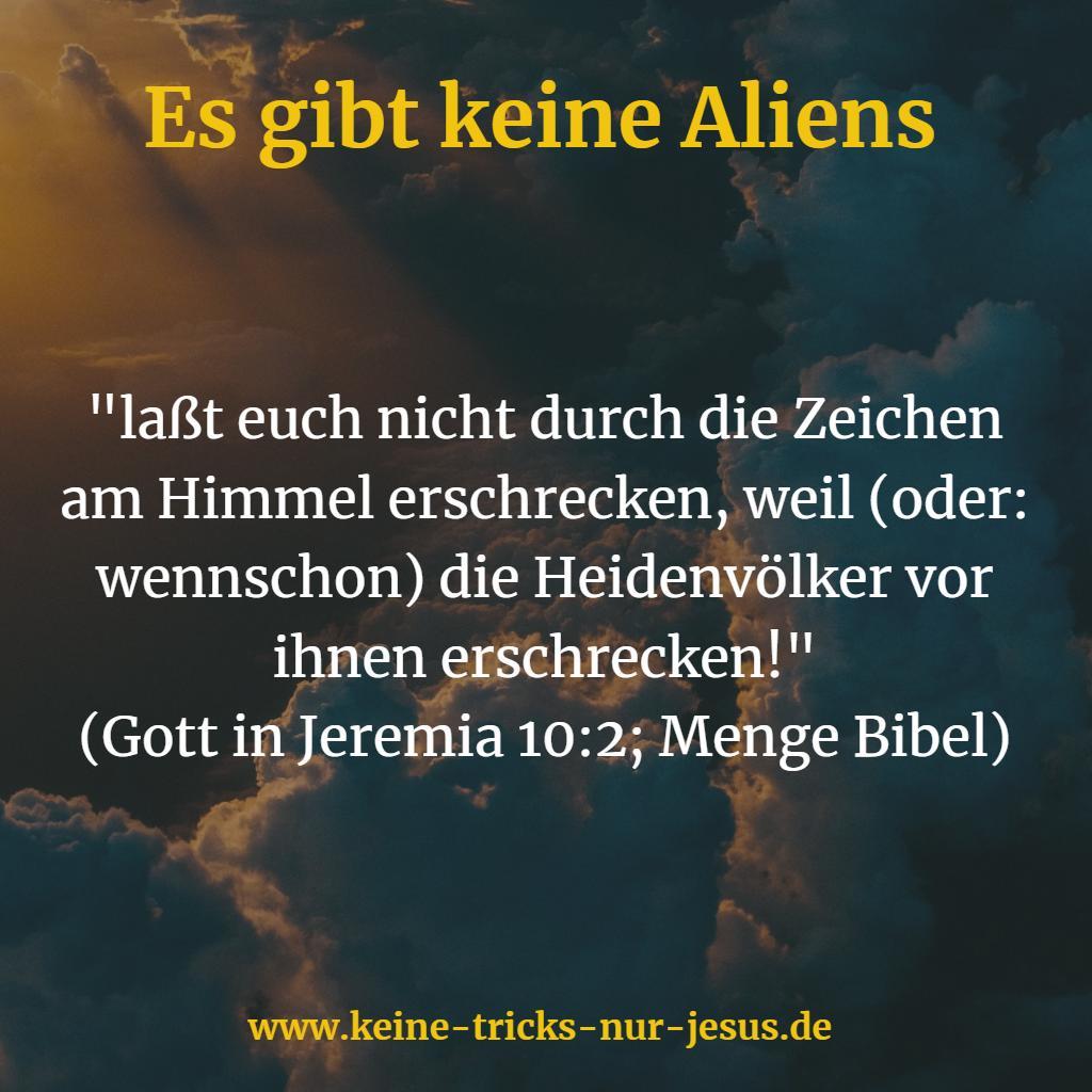 Aliens Bibel