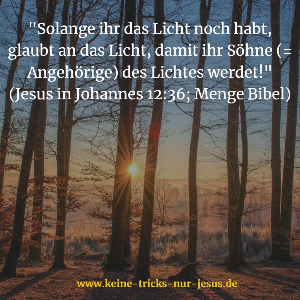 Jesus ist das Licht