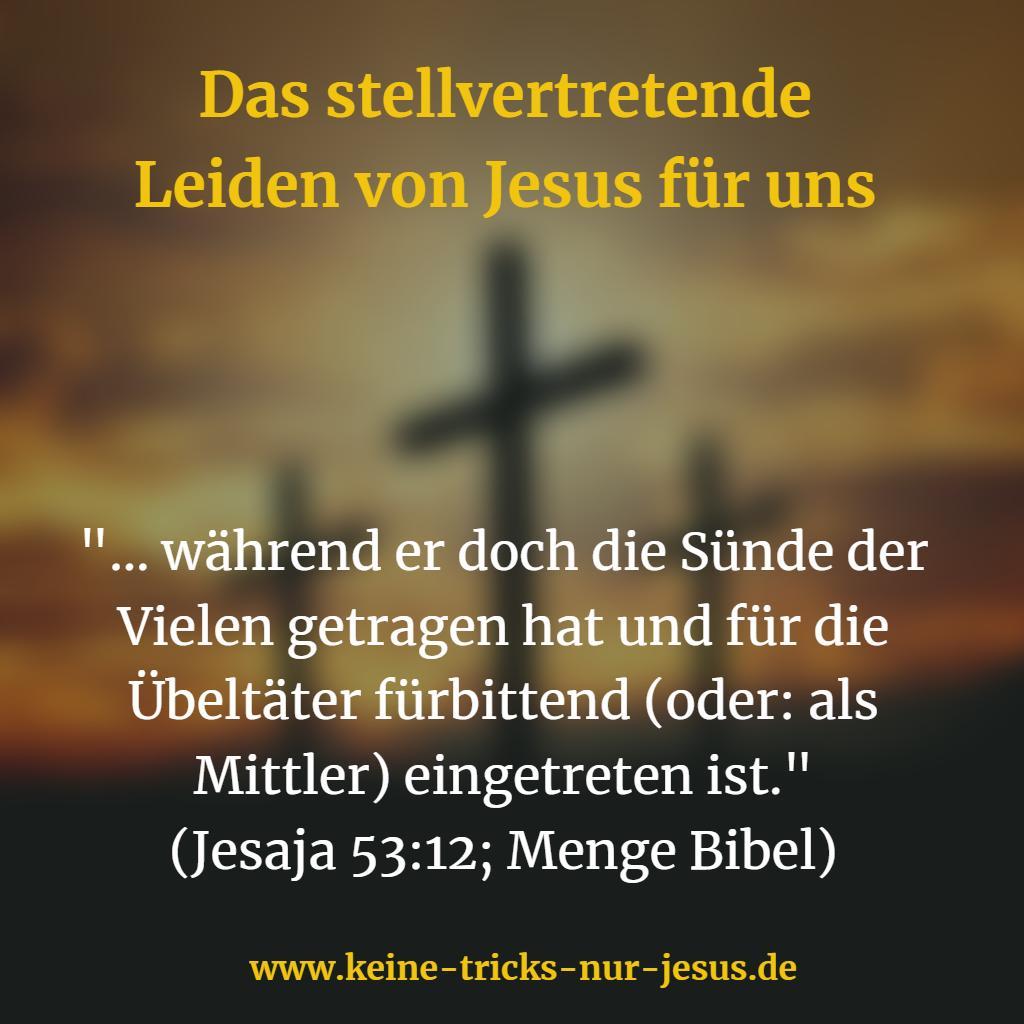 Stellvertreter Jesus