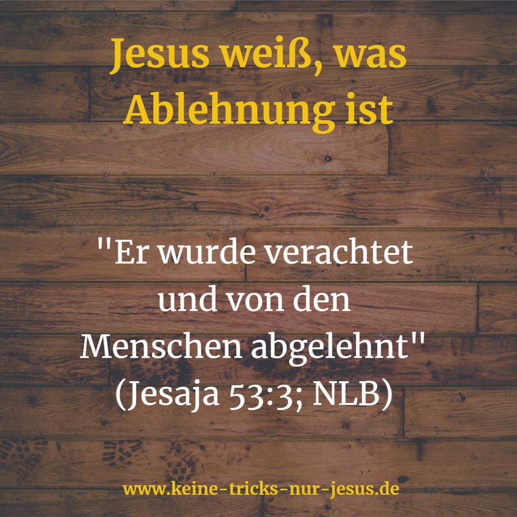 Ablehnung von Jesus