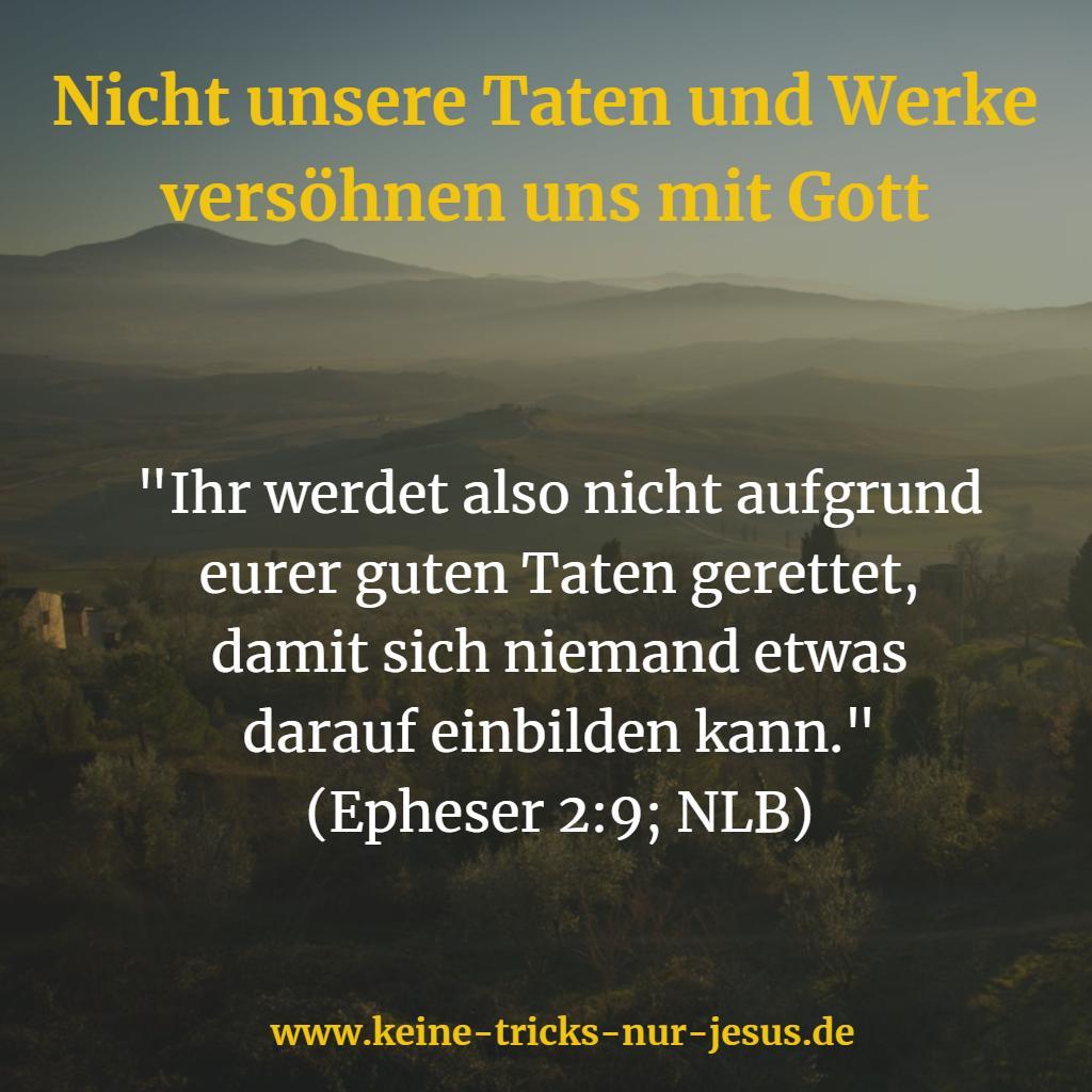Einbildung Bibelvers