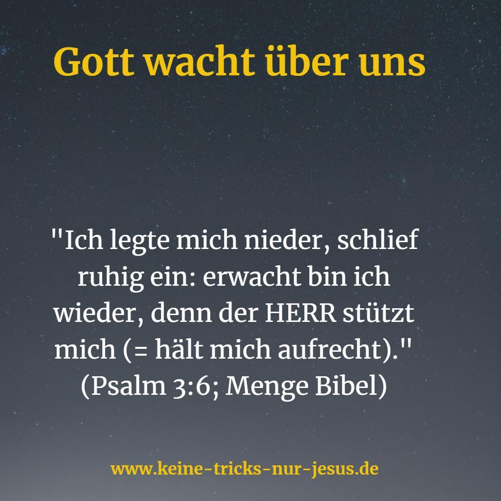 Gott stützt uns