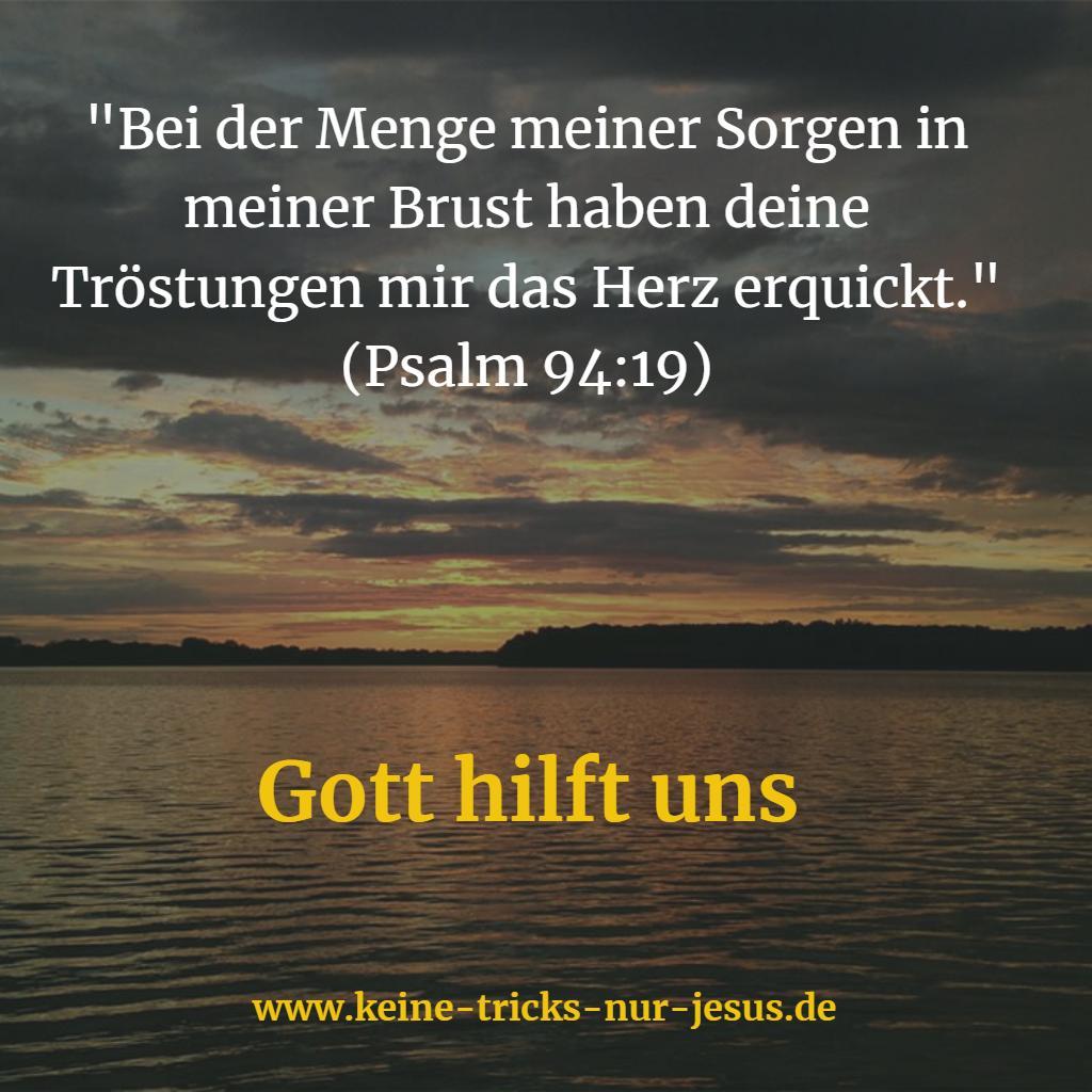 Gott hilft uns