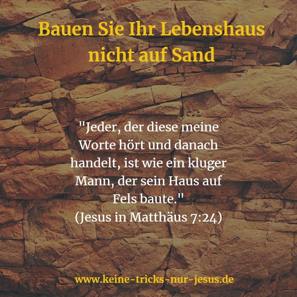Jesus unser sicherer Fels