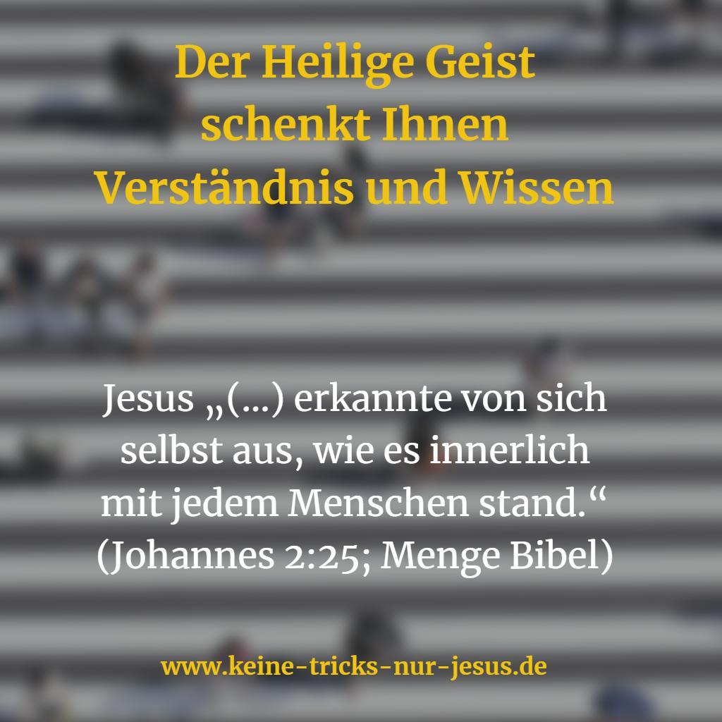 Erkenntnis und Wissen vom Heiligen Geist