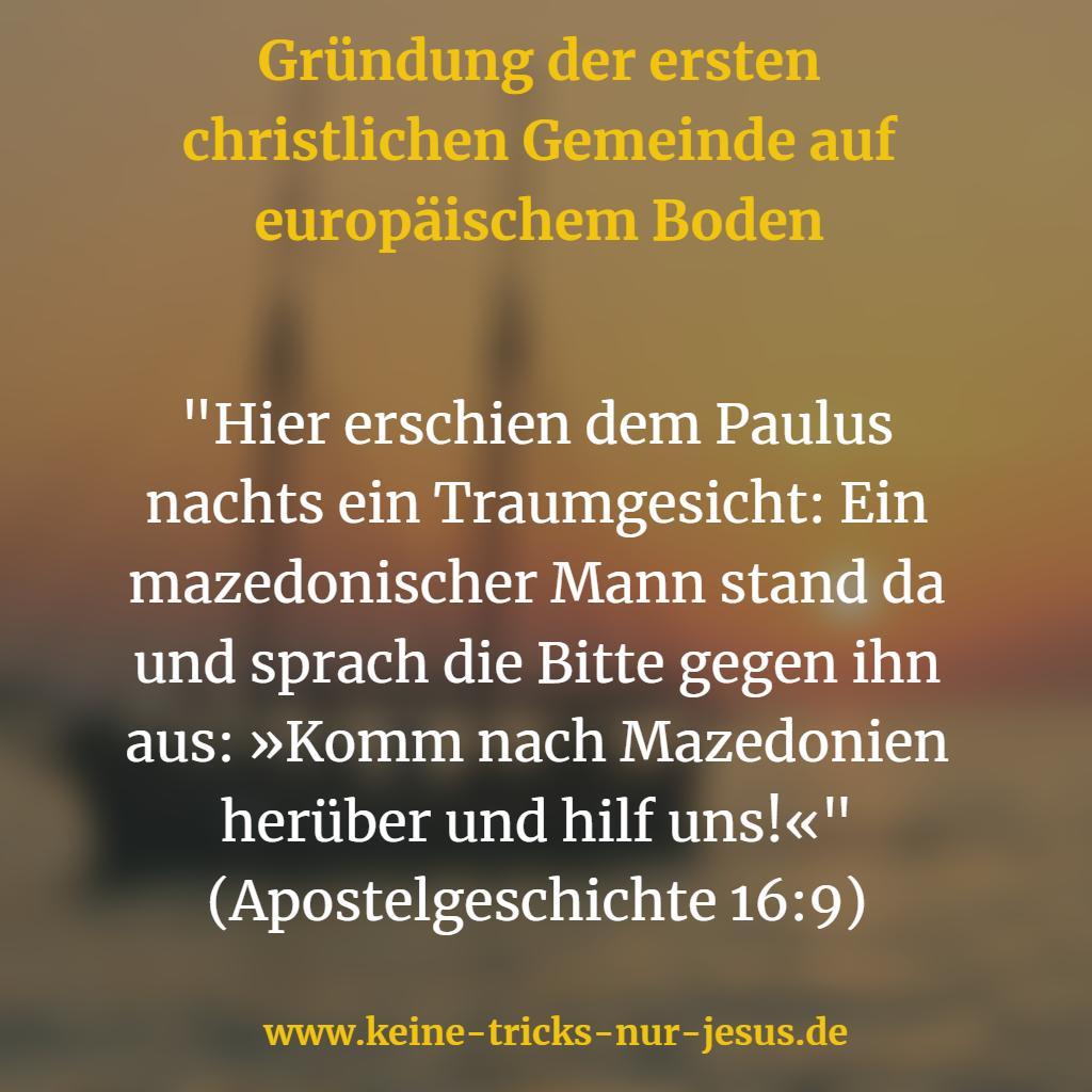 Erste christliche Gemeinde in Euroa