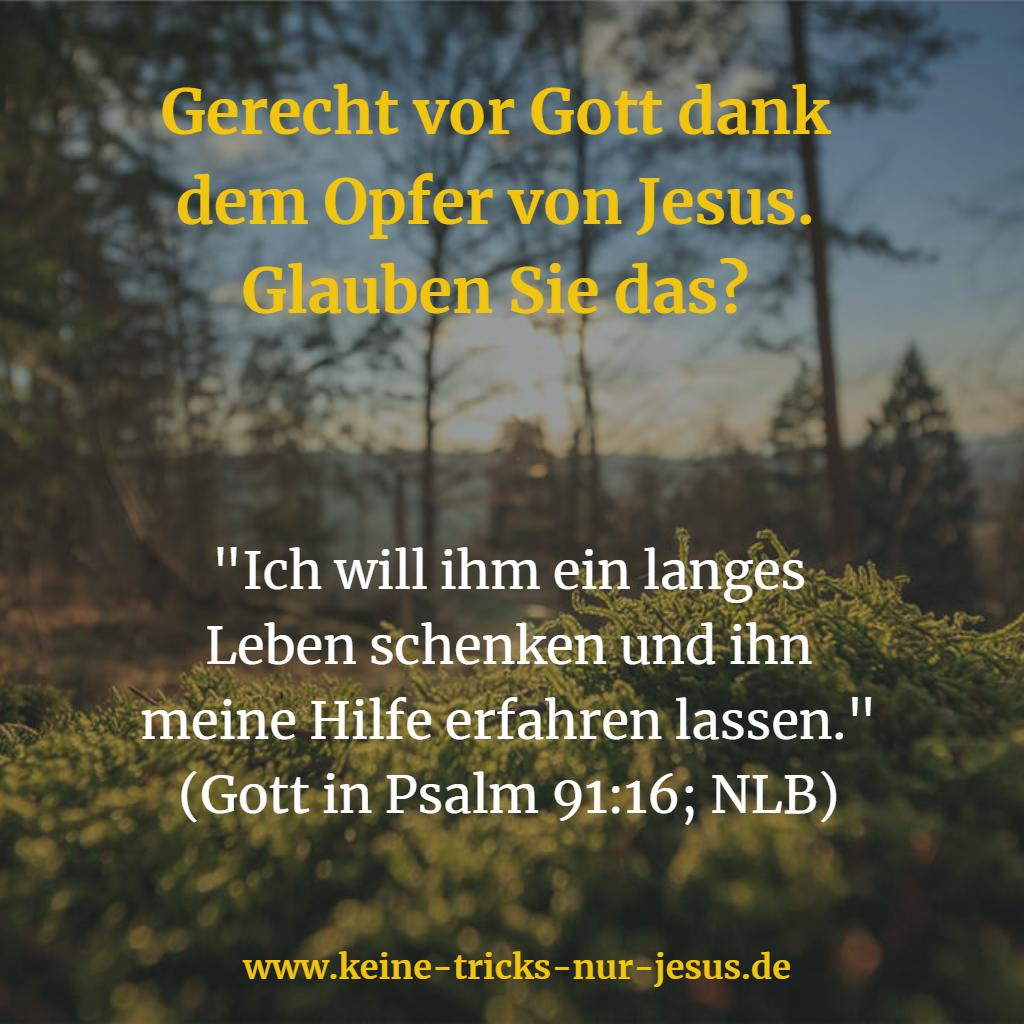 Gerecht vor Gott