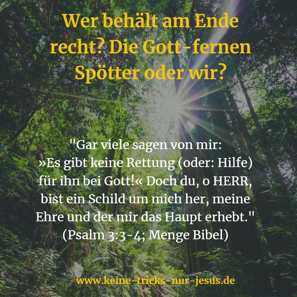 Hilfe bei Gott