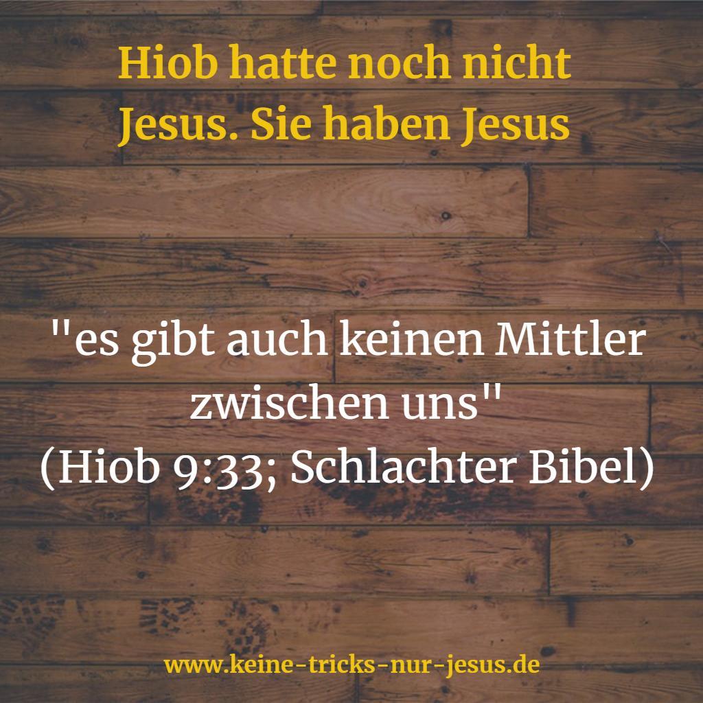 Mittler Jesus