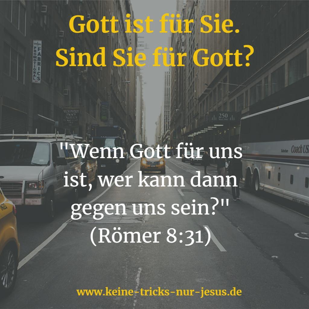 Gott ist für uns