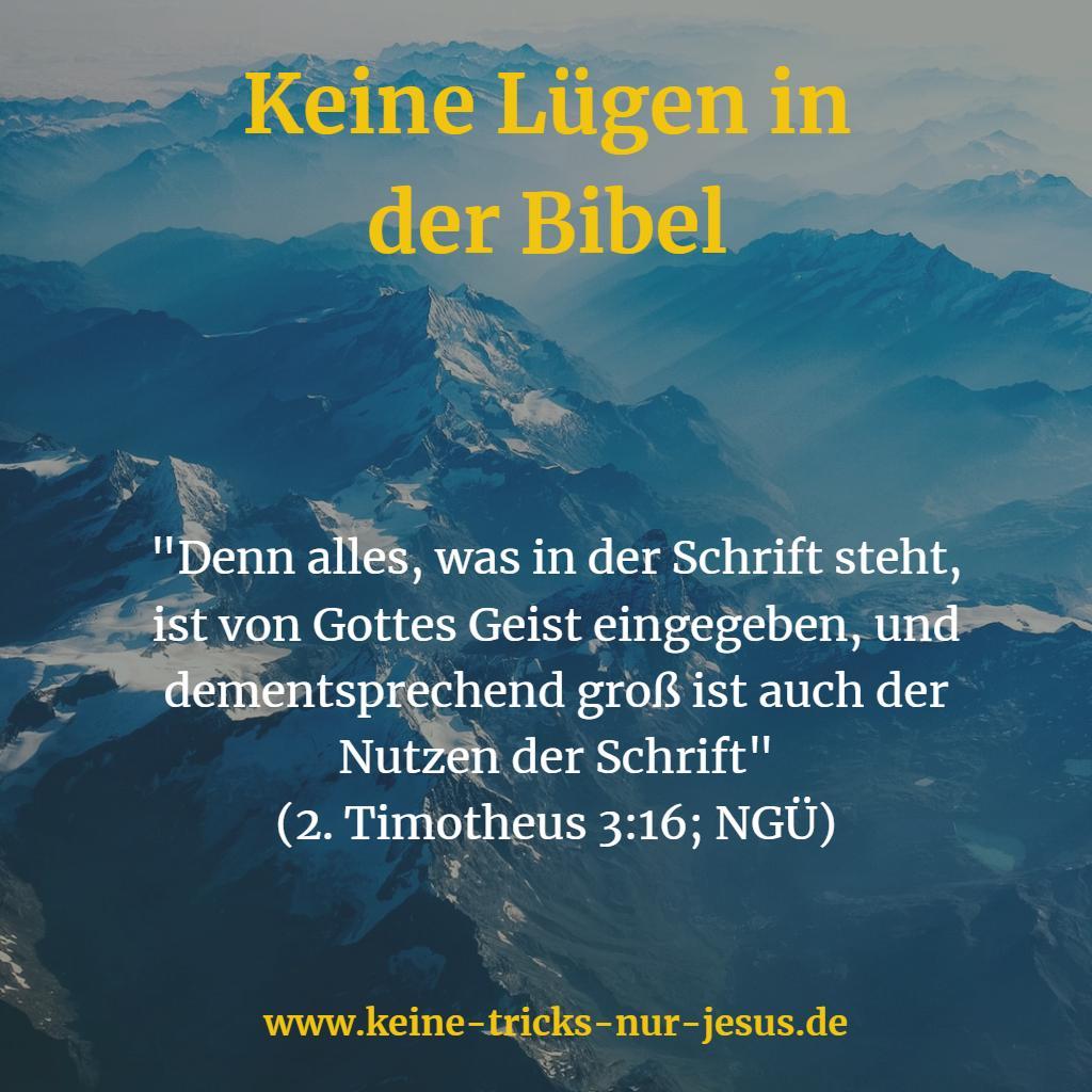 Nutzen der Bibel