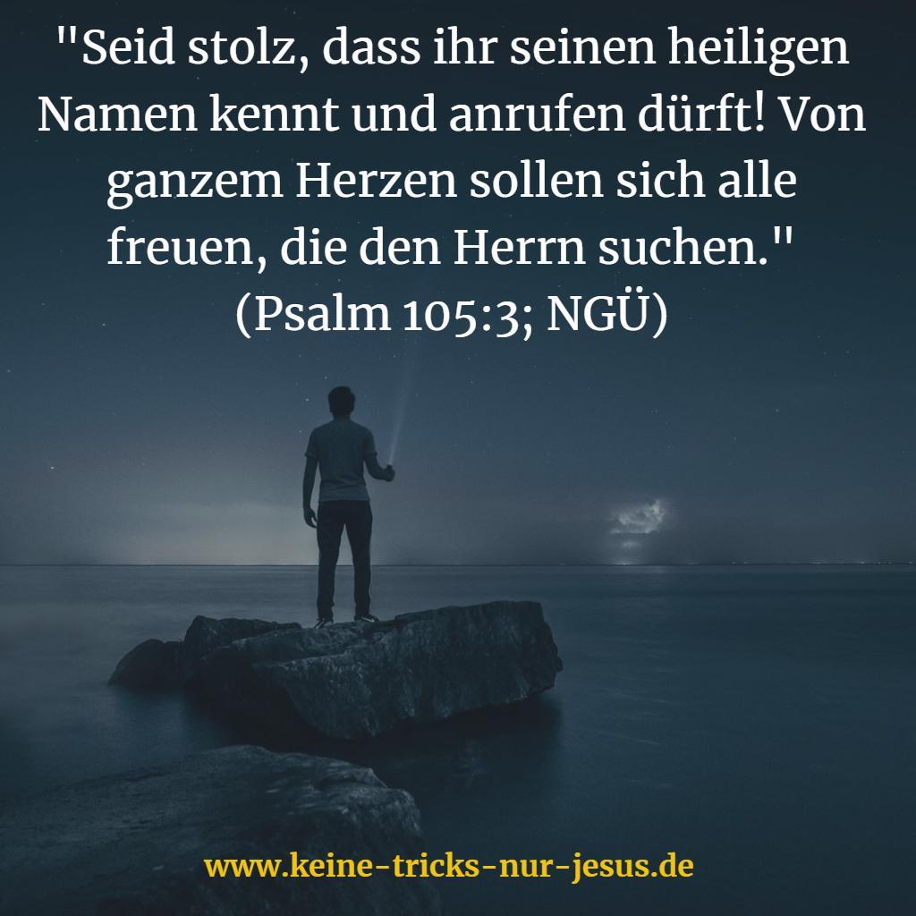 Suche nach Gott