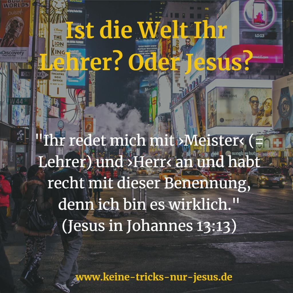 Der Lehrer Jesus
