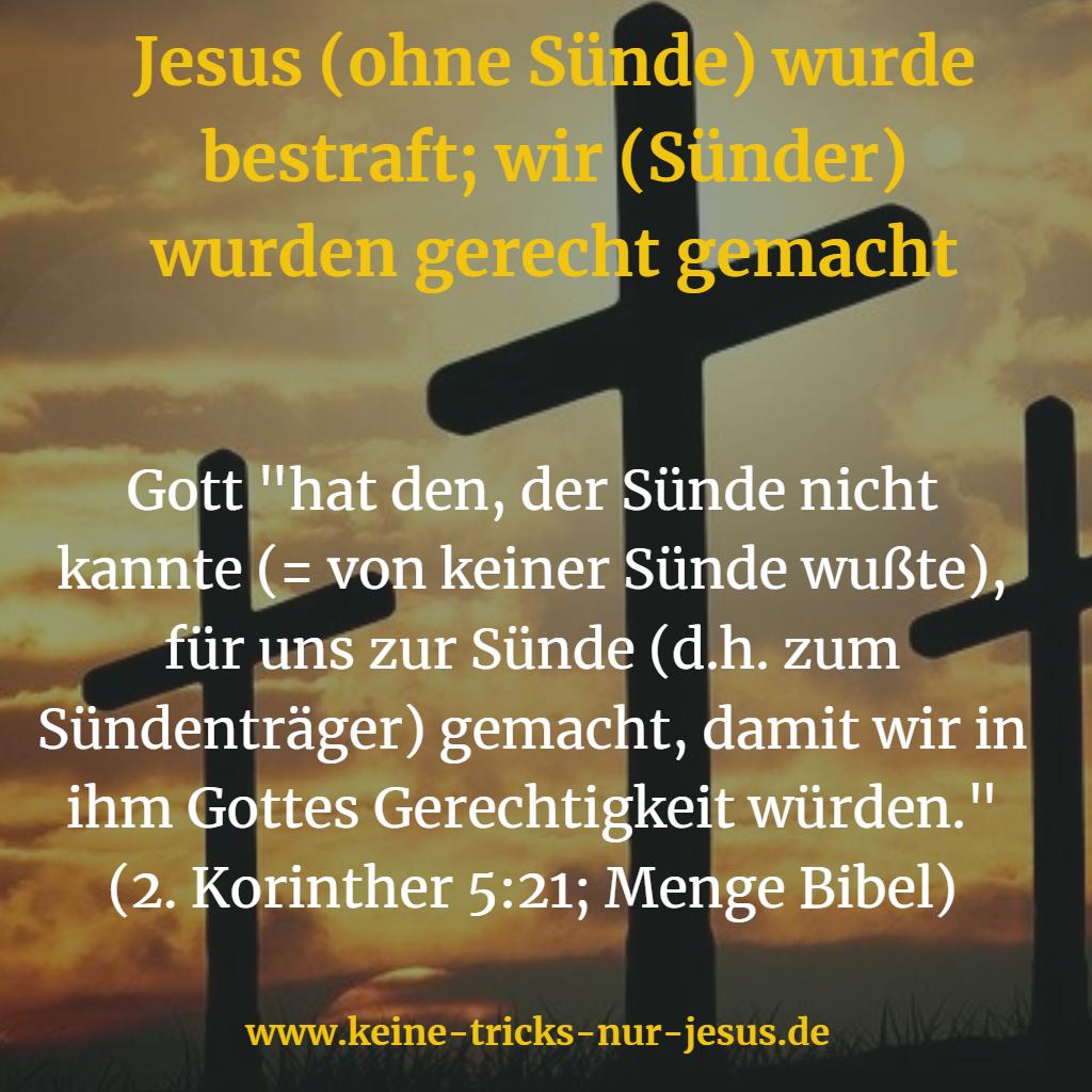 Austausch am Kreuz