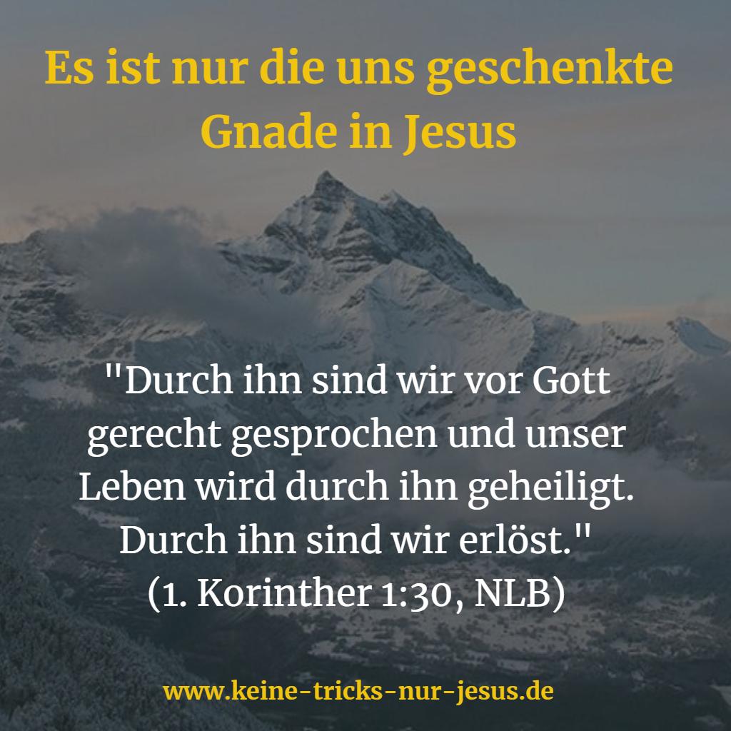 Gerecht gesprochen durch Jesus