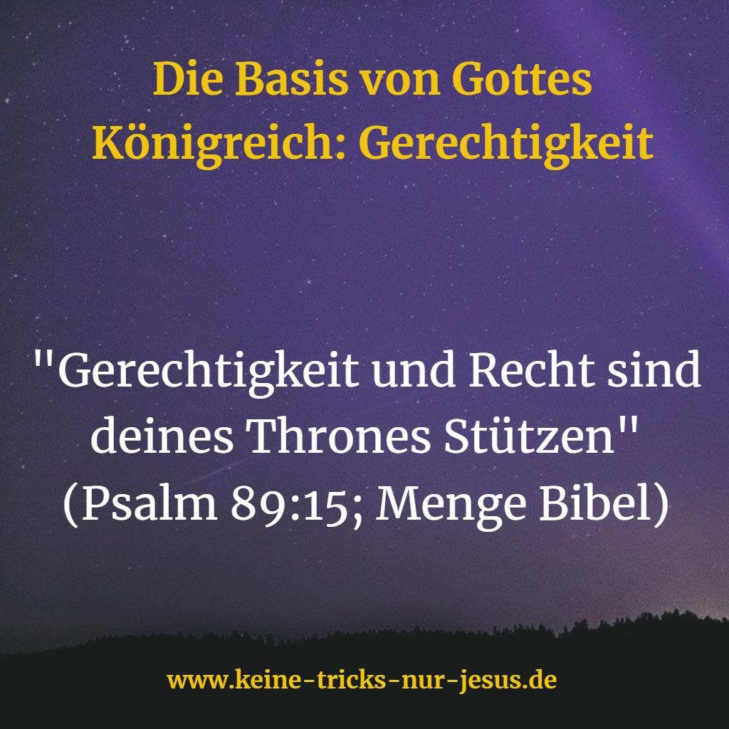 Stützen vom Thron Gottes